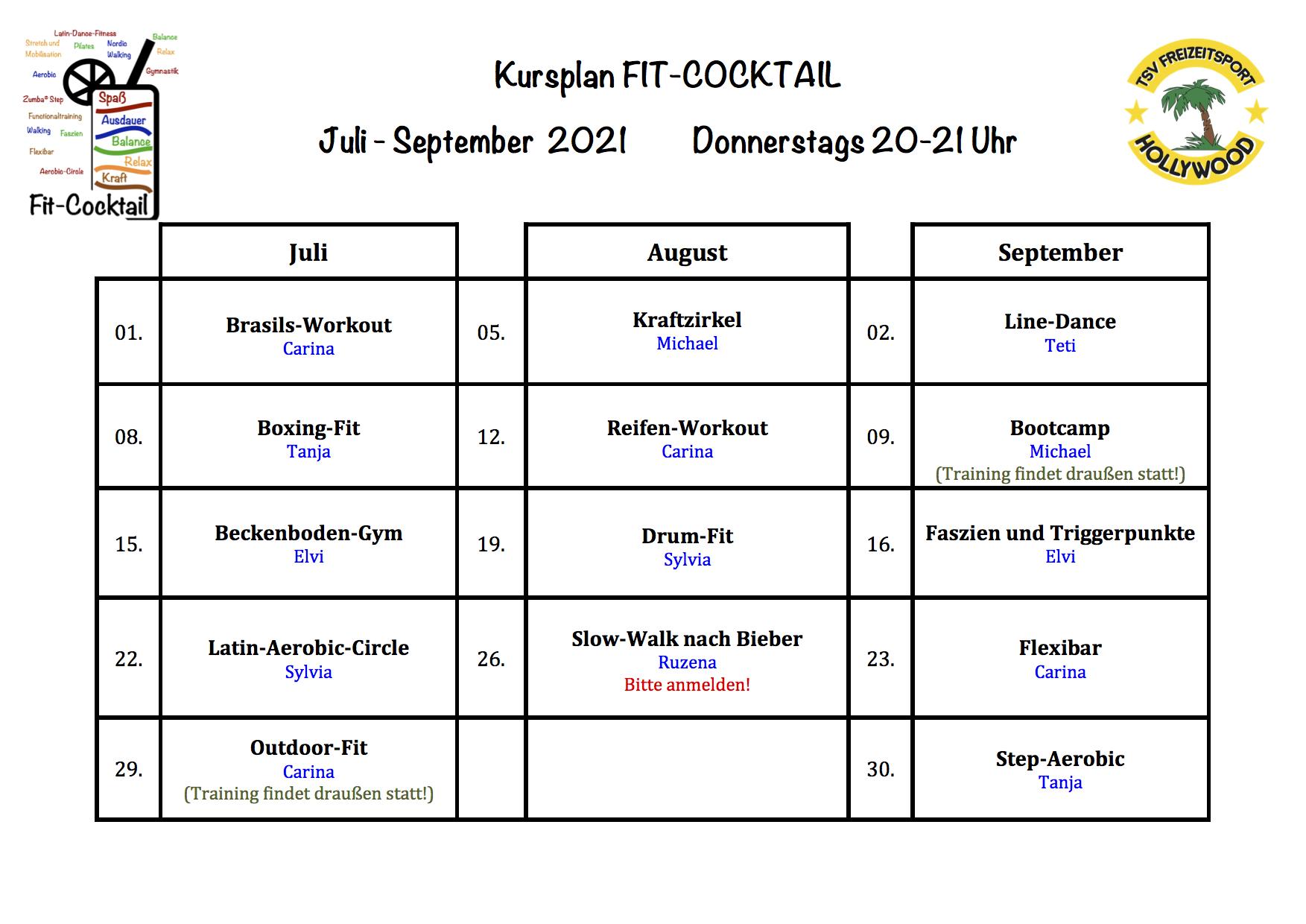 Fitcocktail Plan Online Juli-August2021